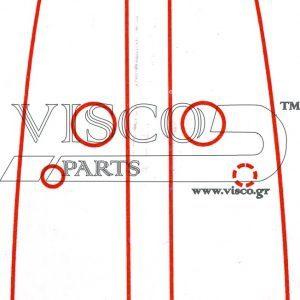 Λάμες Αλυσοπριόνων VISCO Με Στυλίτη