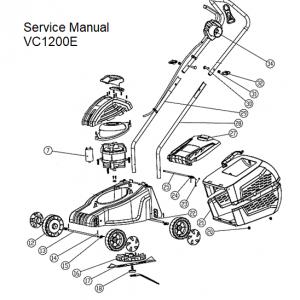 Ανταλλακτικά VC1200E