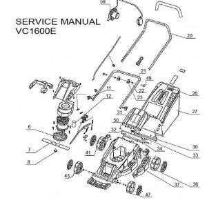 Ανταλλακτικά VC1600E