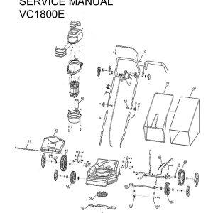 Ανταλλακτικά VC1800E